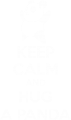 Принт Толстовка KEEP CALM and HUG A PANDA - FatLine