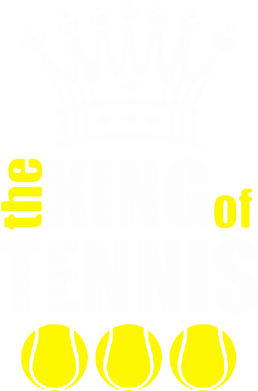 Принт Майка-тельняшка King of Tennis - FatLine