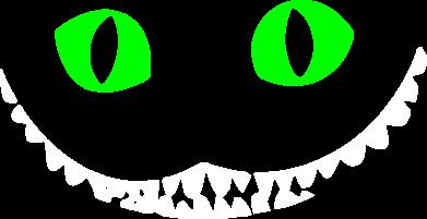 Принт Толстовка чеширский кот - FatLine