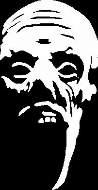 Принт Футболка с длинным рукавом Зомби (Ходячие мертвецы) - FatLine