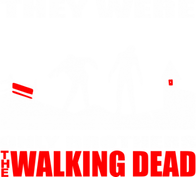 Принт Реглан They were only brothers Walking dead - FatLine