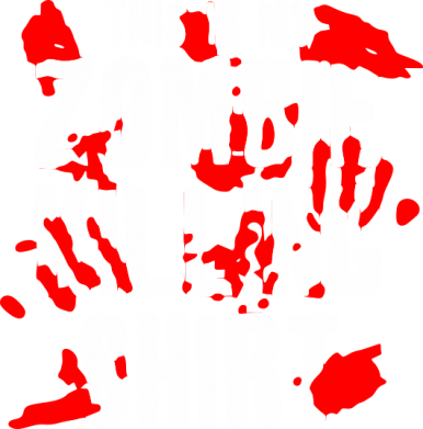 Принт Женская майка This is my zombie killing shirt - FatLine