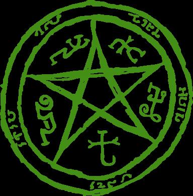 Принт Сумка Оккультный символ Сверхъестественное - FatLine