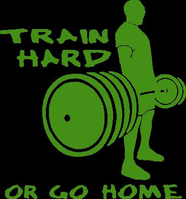 Принт Подушка Train Hard or Go Home - FatLine