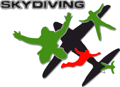 Принт Кружка 320ml Skidiving logo - FatLine