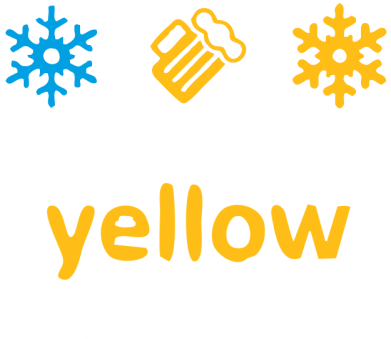 Принт Футболка Don't Make Yellow snow - FatLine