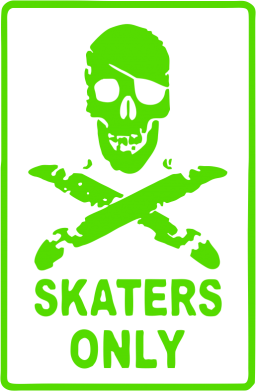 Принт Толстовка Skaters Only - FatLine
