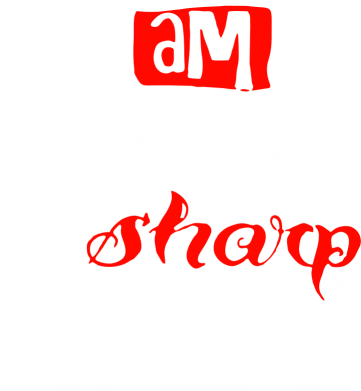 Принт Толстовка I am RAZOR sharp Baby - FatLine
