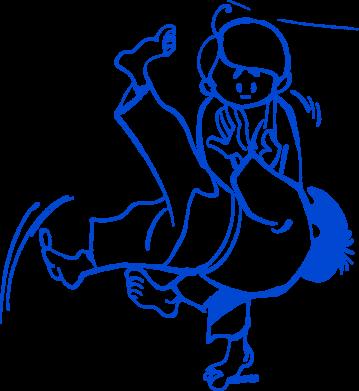 Принт Подушка Judo Fighters - FatLine