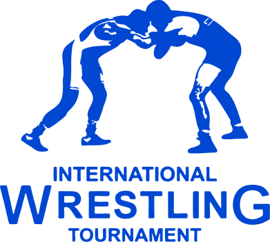 Принт Футболка Поло International Wrestling Tournament - FatLine