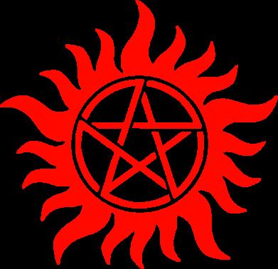 Принт Подушка Сверхъестественное Star - FatLine