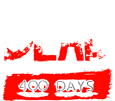 Принт Толстовка The Walking Dead 400 days - FatLine
