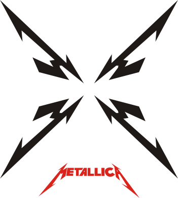 Принт Фартук Metallica X - FatLine
