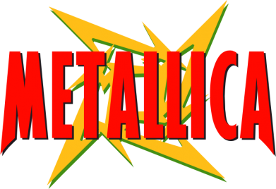 Принт Майка-тельняшка Metallica Logo - FatLine