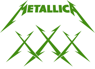 Принт Коврик для мыши Metallica XXX - FatLine