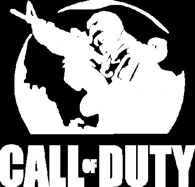 Принт Майка-тельняшка Call of Duty Logo - FatLine