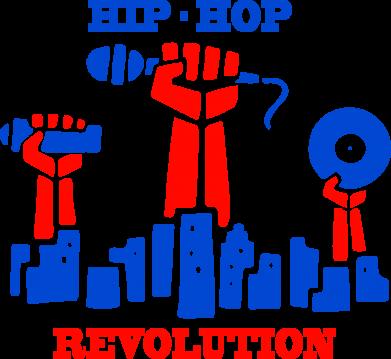 Принт Женская толстовка Hip-hop revolution - FatLine