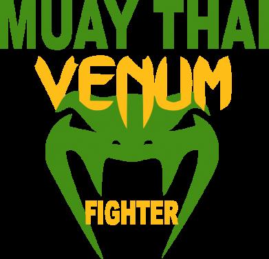 Принт Мужская майка Muay Thai Venum Fighter - FatLine