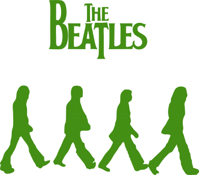 Принт Подушка Beatles Group - FatLine