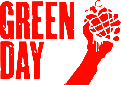Принт Наклейка Green Day American Idiot - FatLine