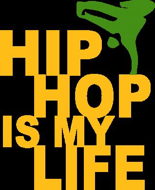 Принт Женская майка Hip-hop is my life - FatLine