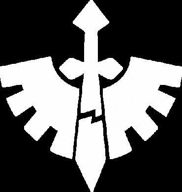 Принт Детская кепка Warhammer 40k Dark Angels - FatLine