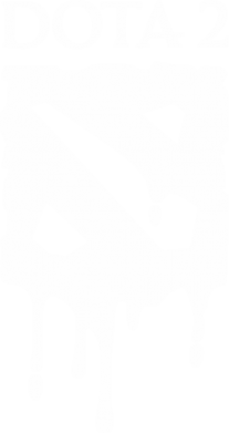 Принт Футболка Поло Dota 2 Logo - FatLine