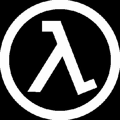 Принт Мужская толстовка Half Life Logo, Фото № 1 - FatLine