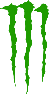 Принт Женская Monster Energy Stripes 2 - FatLine