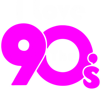 Принт Штаны I love the 90 - FatLine
