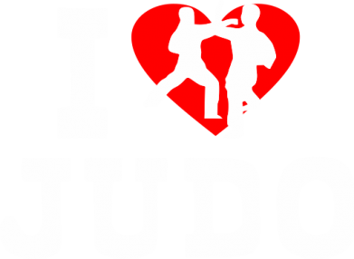 Принт Толстовка I love Judo - FatLine