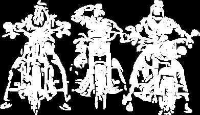 Принт Мужская толстовка на молнии Три богатыря - FatLine