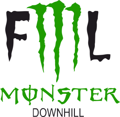 Принт Фартук Monster Energy Downhill - FatLine
