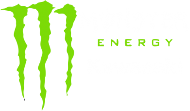 Принт Футболка Поло Monster Energy Kawasaki - FatLine