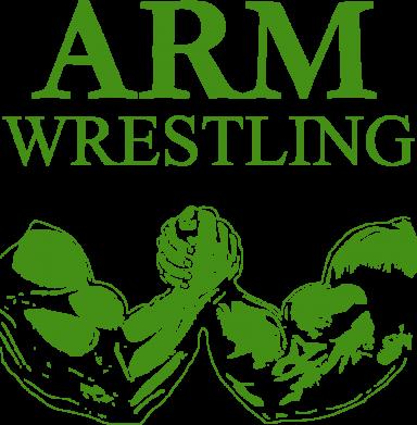 Принт Коврик для мыши Arm Wrestling - FatLine