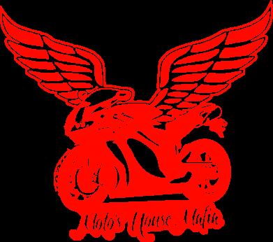 Принт Кружка 320ml Байк с крыльями - FatLine