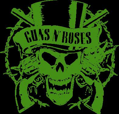 Принт Подушка Guns n' Roses Logo - FatLine