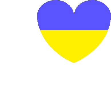 Принт Женская футболка с V-образным вырезом Я люблю Україну - FatLine