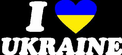 Принт Мужская толстовка на молнии Я люблю Украину - FatLine
