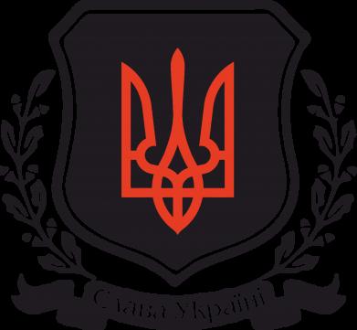 Принт Камуфляжная футболка Слава Україні! (вінок) - FatLine
