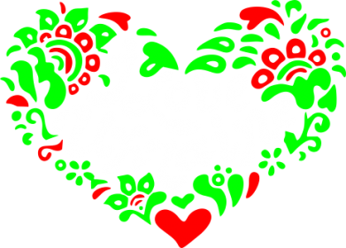 Принт Футболка I love Ukraine heart - FatLine