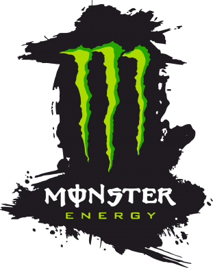 Принт Майка-тельняшка Monster Energy Paint - FatLine