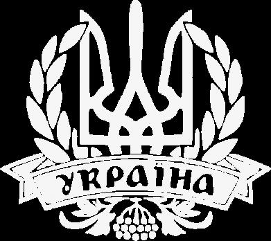 Принт Женская футболка с V-образным вырезом Вінок з гербом - FatLine
