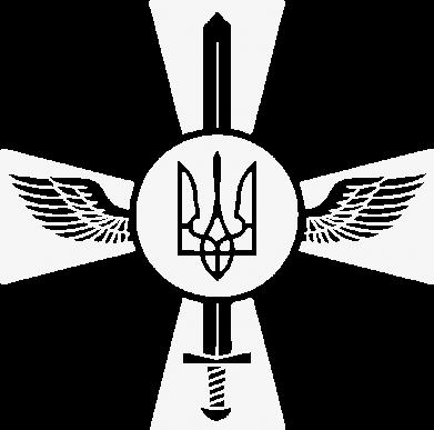 Принт Мужская футболка  с V-образным вырезом Меч, крила та герб - FatLine