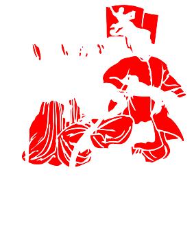 Принт Женская майка Або зі щитом, або на щиті - FatLine