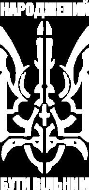 Принт Женская футболка с V-образным вырезом Народжений бути вільним - FatLine