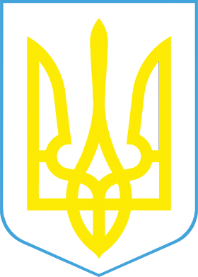 Принт Мужские шорты Герб України з рамкою - FatLine