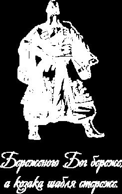 Принт Футболка Поло Береженого Бог береже, а козака шабля стереже - FatLine