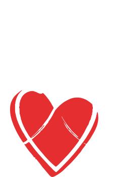 Принт Камуфляжная футболка Серце з гербом - FatLine