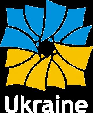 Принт Мужская футболка  с V-образным вырезом Ukraine квадратний прапор - FatLine
